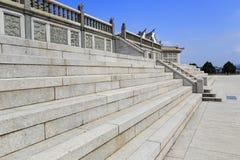 Основание и лестницы памятника Стоковая Фотография RF