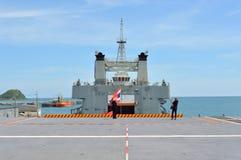 Основание Sattahip военноморское Стоковое Изображение RF