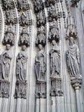 основа двери детали cologne собора Стоковое Изображение RF