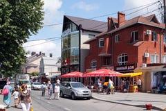 основа одно города бульваров anapa стоковые фото