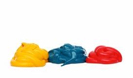 Основная пестрая краска Стоковое Фото