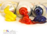 основное масло цветов Стоковые Фотографии RF