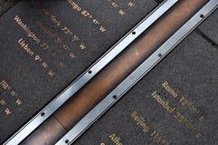 Основной меридиан Стоковое Изображение RF