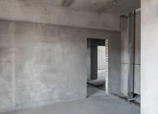 Основной ремонт предпосылок в новом здании стоковая фотография