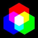 Основной цвет иллюстрация вектора