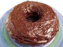 Основной шоколадный торт с богатой замороженностью стоковые фото
