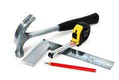 основные инструменты комплекта стоковые изображения rf
