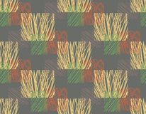 Seamless pattern with rectangles. royalty free illustration