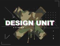 Design unit for stylish t-shirt vector illustration
