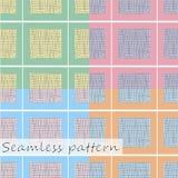 Seamless checkered pattern. vector illustration