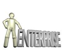 основывать предпринимательства иллюстрация штока