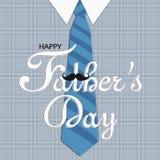 Особенная иллюстрация на День отца иллюстрация вектора