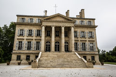Особняк винодельни margaux замка, Бордо, Франция Стоковое Изображение