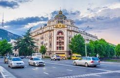 Особняк в Тбилиси Стоковые Фотографии RF
