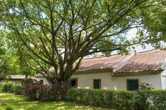 Особняк и сад семьи Lin Бен-юаней визируют взгляд Стоковое Изображение RF
