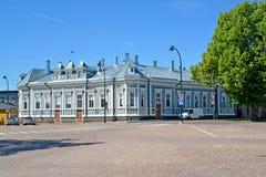 Особняк дома вида Aladinykh на центральной площади ветчина Стоковое Фото