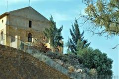 Особняк религиозного, в Ermita de Ла Fuensanta стоковое фото rf