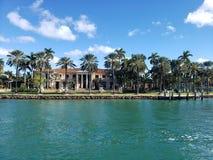 Особняк Miami Beach Дэвида Бекхэма стоковое изображение