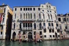 Особняк Palazzo в Венеции, Италии стоковые фото