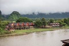 Оставаться около реки песни Nam Стоковое фото RF