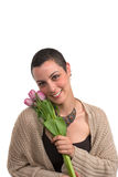 оставшийся в живых рака молочной железы Стоковые Фото