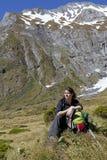 остальные hiker Стоковая Фотография RF