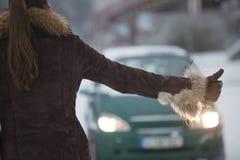останавливать автомобиля Стоковая Фотография