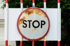 Остановите лампу островка безопасност Стоковые Фотографии RF