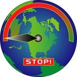 остановите греть Стоковая Фотография RF