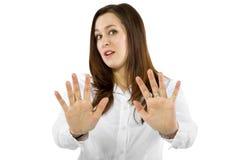 Остановите жест Стоковые Фотографии RF