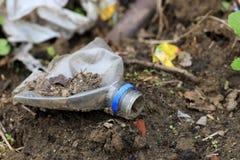 Остановите загрязнение почвы Стоковое Изображение RF