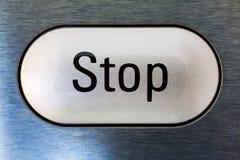 Остановите кнопку Стоковые Изображения