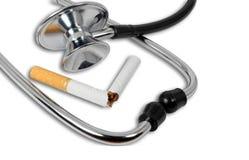 Остановите курить концепцию стоковое изображение