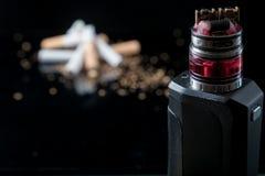 Остановите курить, начните vaping Стоковые Изображения