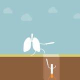 Остановите курить Стоковая Фотография