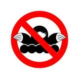 Остановите моль Землеройка запрета Красный запрещающий дорожный знак Ферма бича бесплатная иллюстрация
