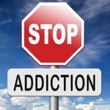 Остановите наркоманию Стоковая Фотография