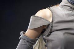 Остановите насилие против женщины Стоковые Фотографии RF