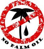 Остановите пальмовое масло Стоковая Фотография