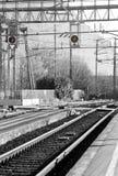 остановите поезд Стоковые Фото