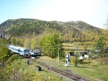 остановите поезд Стоковые Изображения RF