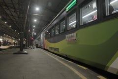 остановите поезд Стоковое Изображение