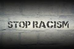 Остановите расизм GR стоковые изображения rf