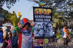 Остановите расправу против детей Стоковые Изображения