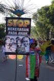 Остановите расправу против детей Стоковое Изображение RF