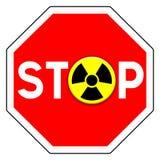 Остановите ядерное Стоковое Изображение