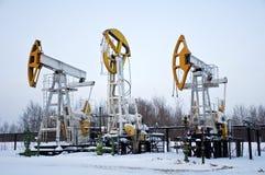 остановленные pumpjacks Стоковые Фотографии RF