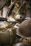 Остатки война США против Демократической Республики Вьетнам Стоковая Фотография RF