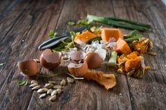 Остатки еды Стоковое фото RF