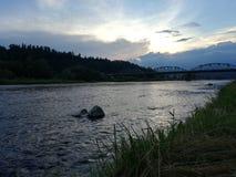 Остатки на реке Сан стоковые фото